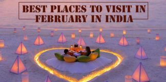Top 5 Places to Visit in February in India